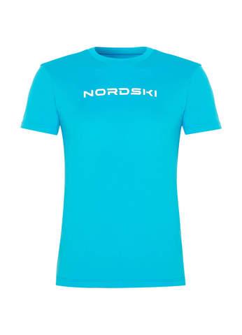 Nordski Jr Logo футболка детская light blue