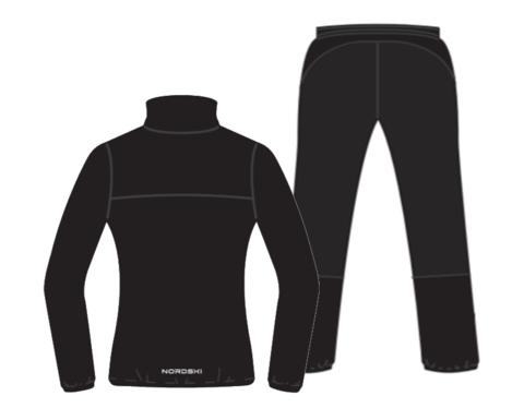 Nordski Motion Premium костюм для бега женский Black