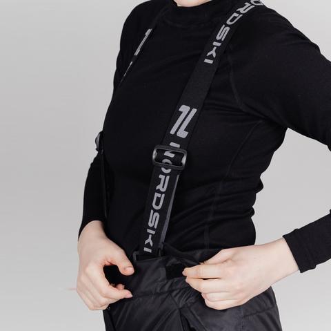 Nordski Premium утепленные лыжные брюки женские black