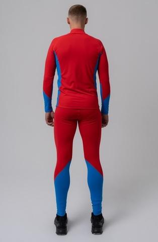 Nordski Active лыжный комбинезон унисекс red-blue