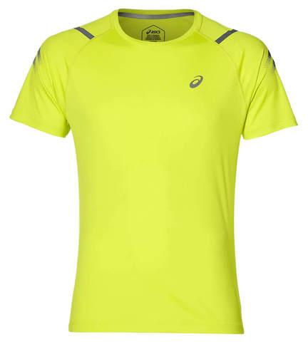 Asics Icon Ss Top футболка для бега мужская лайм