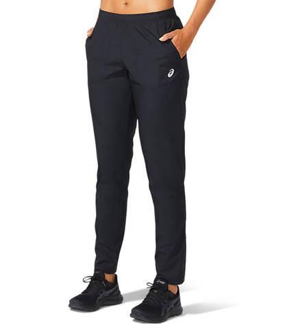 Asics Core Woven Pant беговые штаны женские черные