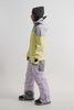 Cool Zone VIBE комбинезон для сноуборда женский серый-лимонный - 3