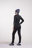 Nordski Active женский разминочный костюм черный-желтый - 2