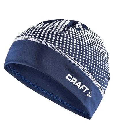Craft Livigno Printed лыжная шапка темно-синяя