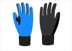Nordski Active WS Jr детские лыжные перчатки голубые