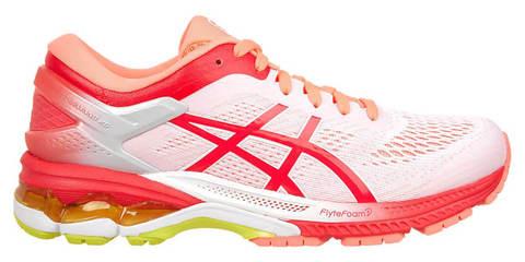 Asics Gel Kayano 26 Kai кроссовки для бега женские белые-красные