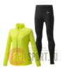 Mizuno Reflect Wind Warmalite костюм для бега женский желтый-черный - 1