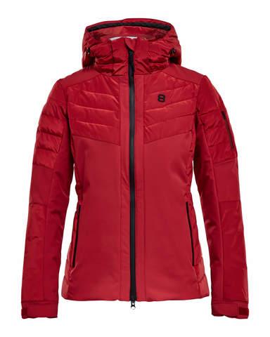 Горнолыжная куртка 8848 Altitude Maximilia женская красная