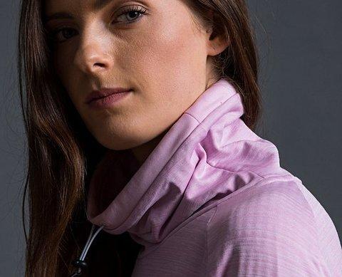 Craft Grid толстовка женская светло-розовая