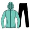 Nordski Run костюм для бега женский светло-бирюзовый - 4