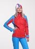 Nordski National женская ветрозащитная куртка красная - 1
