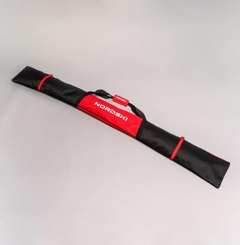 Nordski чехол для лыж 170 см 1 пара черный-красный
