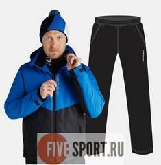 Nordski Montana прогулочный костюм мужской синий-черный