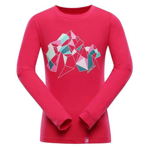 Alpine Pro Lemko рубашка детская pink