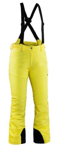 8848 ALTITUDE CLEARE женские горнолыжные брюки желтые