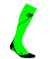 Гольфы компрессионные CEP женские ярко-зеленые