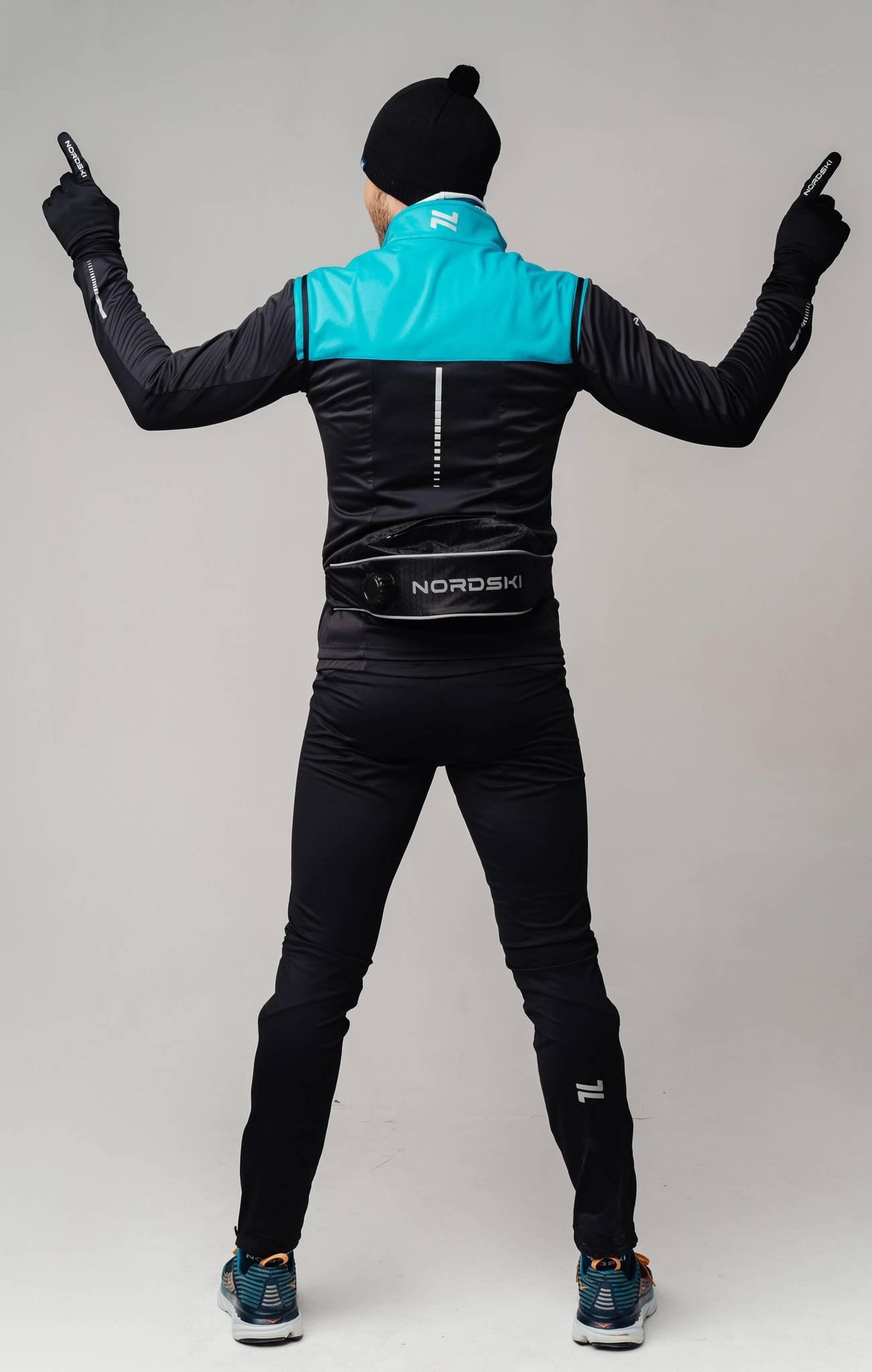 Nordski Pro лыжный костюм мужской breeze-black - 3