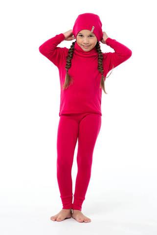 Janus Princess Wool термолеггинсы детские малиновые