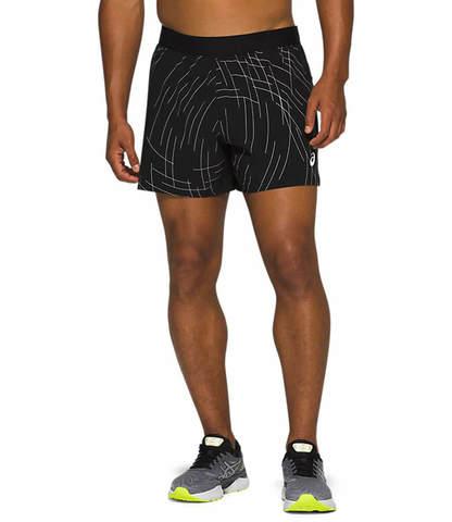Asics Night Track Short шорты для бега мужские черные