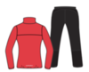 Nordski Motion Premium костюм для бега женский Red - 2
