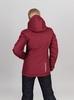 Nordski Mount лыжная утепленная куртка женская бордо - 3