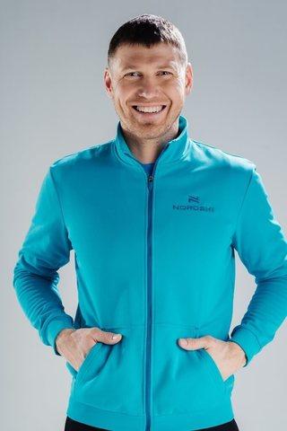 Nordski Zip спортивная толстовка мужская dark breeze