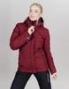 Nordski Mount лыжная утепленная куртка женская бордо - 2