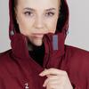Nordski Mount лыжная утепленная куртка женская бордо - 4
