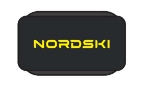 Nordski липучки для лыж black-yellow
