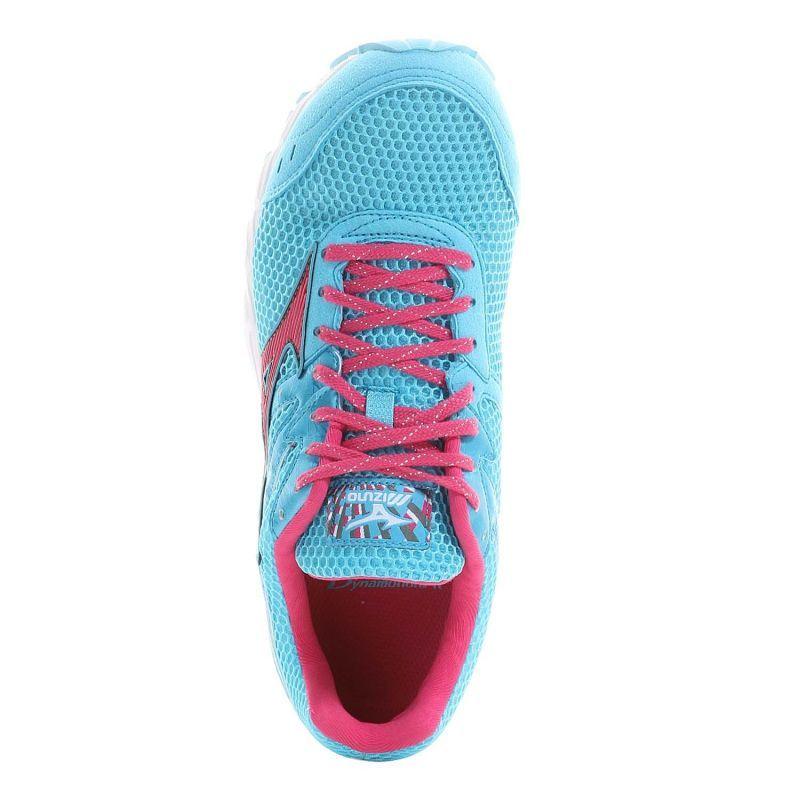 Mizuno Wave Aero 12 кроссовки для бега женские blue - 5