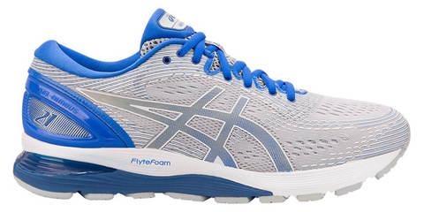 Asics Gel Nimbus 21 Lite Show кроссовки для бега мужские белые-синие