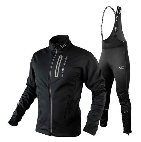 Victory Code Fast Warm лыжный костюм black