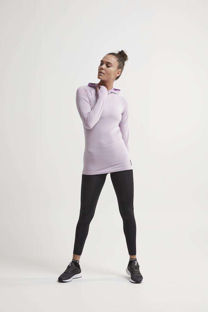 Craft Core Fuseknit рубашка беговая с капюшоном женская - 5
