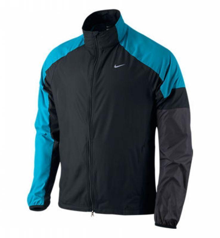 Ветровка Nike Windfly Jacket чёрно-голубая - 2