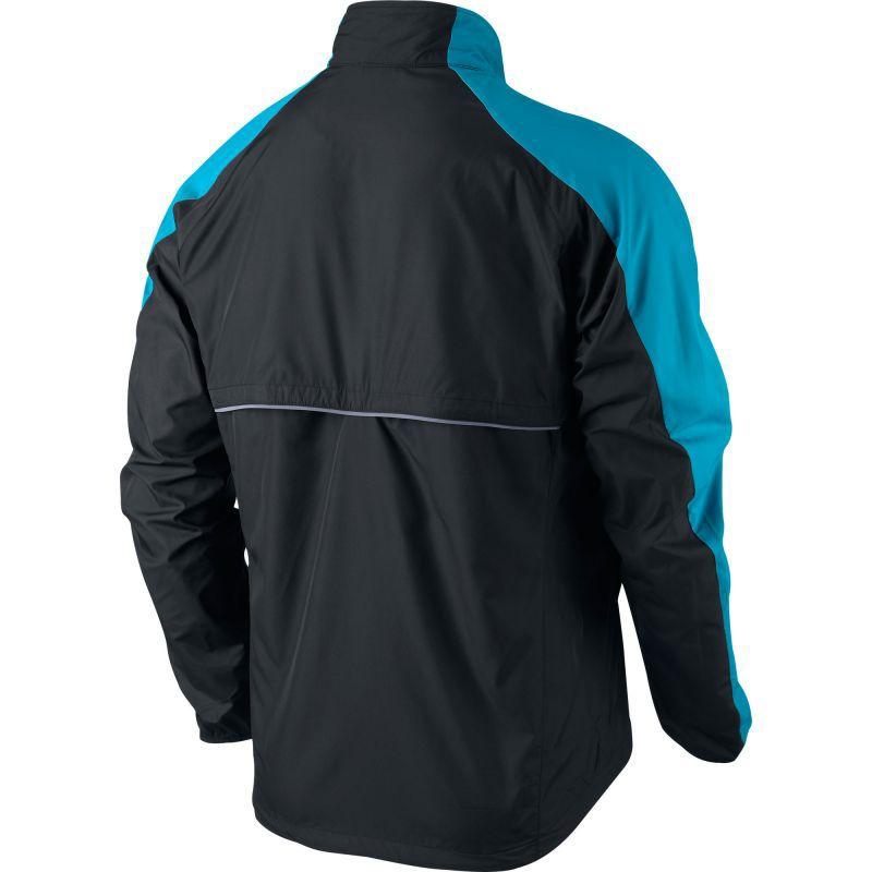 Ветровка Nike Windfly Jacket чёрно-голубая - 3