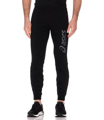 Asics Big Logo Sweat Pant спортивные брюки мужские черные