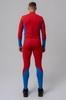 Nordski Jr Active детский лыжный комбинезон red-blue - 3
