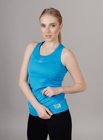 Nordski Run майка беговая женская blue