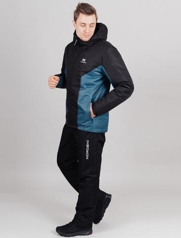 Nordski Base теплый костюм мужской deep teal