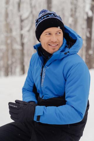 Nordski Montana теплый лыжный костюм мужской синий-черный