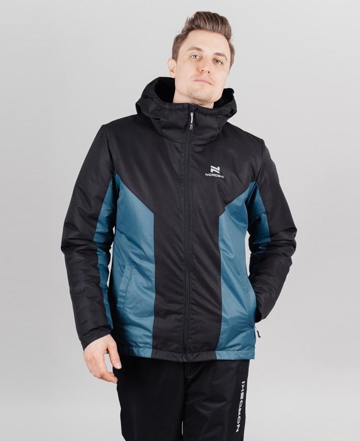 Nordski Base теплый костюм мужской deep teal - 3