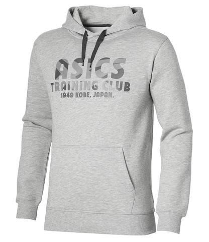 ASICS TRAINING CLUB HOODIE мужская толстовка с капюшоном