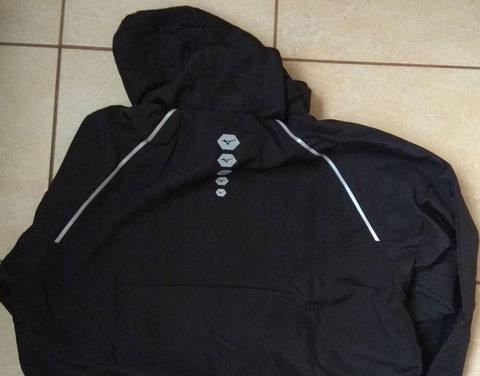 Mizuno Osaka Windbreaker Impulse Core костюм для бега мужской черный