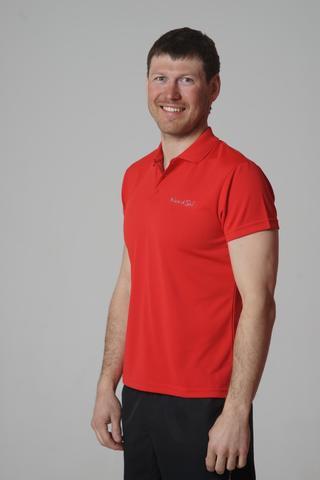 Nordski Active мужская футболка поло красная