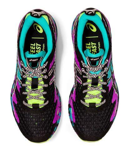 Asics Gel Noosa Tri 12 кроссовки для бега женские черные-фиолетовые