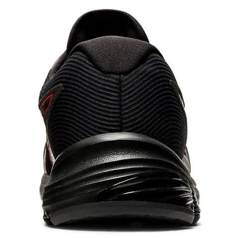 Asics Gel Pulse 12 GoreTex кроссовки для бега мужские черные-красные (Распродажа)