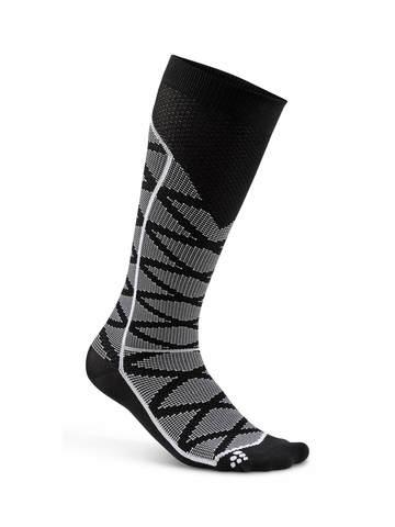 Craft Compression Pattern компрессионные носки черный