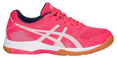 Asics Gel Rocket 8 женские волейбольные кроссовки розовые