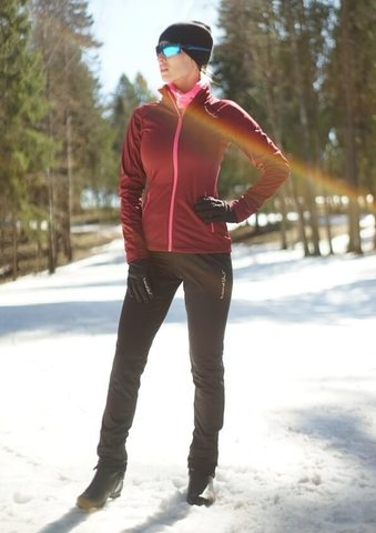 Nordski Elite лыжный костюм женский Wine